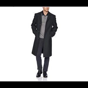 London Fog Wool Coat - Charcoal 42L